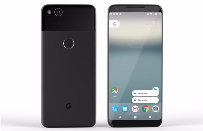 Google xac nhan ngay ra mat hai smartphone Pixel 2 hinh anh