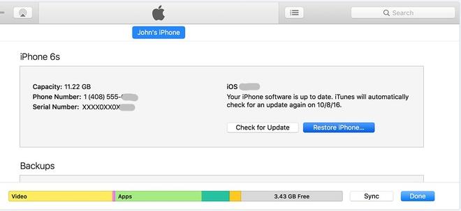 Cach quay ve iOS 10 tu iOS 11 hinh anh 7
