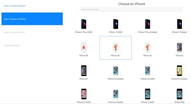 Cach quay ve iOS 10 tu iOS 11 hinh anh 1