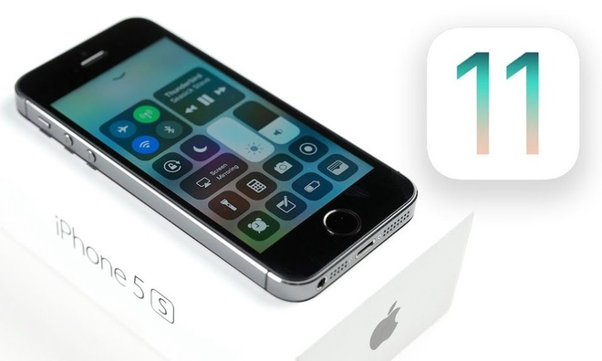 iOS 11 lam iPhone 5S chay cham hon hinh anh