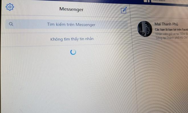 Facebook Messenger gap loi lien tuc trong ngay tai Viet Nam hinh anh 1