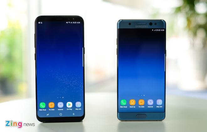 Samsung da thay doi nhu the nao mot nam qua hinh anh