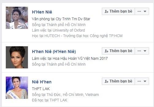 Xuat hien hang loat tai khoan Facebook gia mao tan Hoa hau hinh anh 1