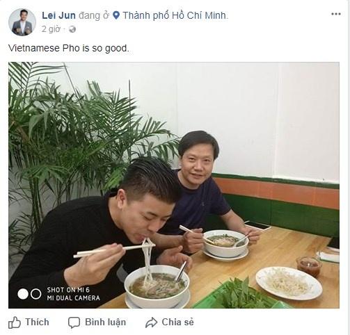 'Steve Jobs Trung Quoc' khoe anh an pho tai Sai Gon hinh anh