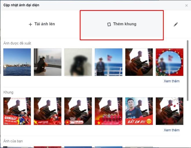 Thay avatar Facebook de co vu doi tuyen U23 Viet Nam hinh anh 7
