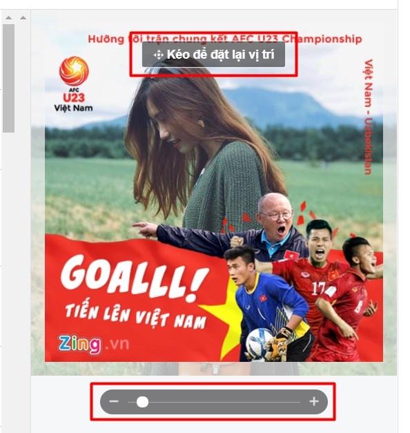 Thay avatar Facebook de co vu doi tuyen U23 Viet Nam hinh anh 10