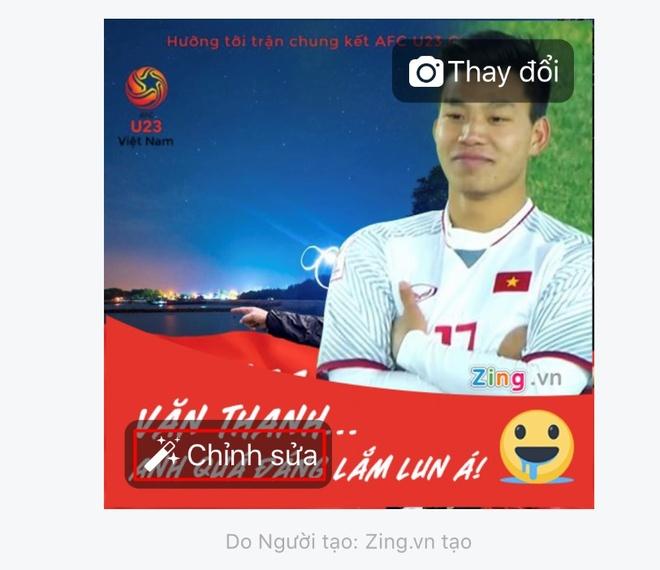 Thay avatar Facebook de co vu doi tuyen U23 Viet Nam hinh anh 4