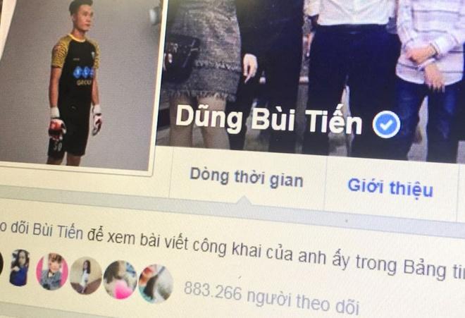 Facebook nhieu cau thu U23 Viet Nam co dau tick xanh hinh anh