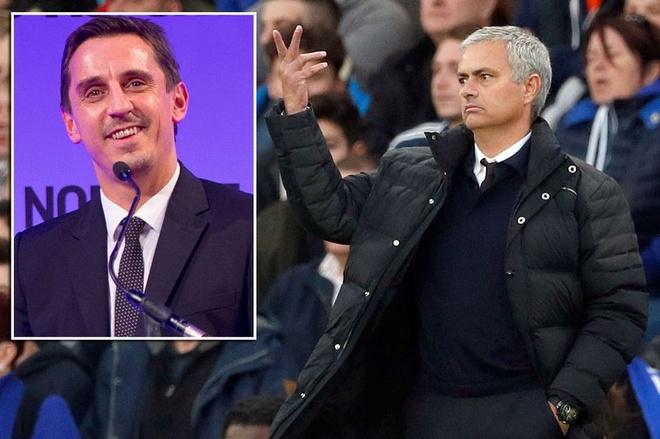 HLV Mourinho ngung chien voi Conte, 'da xoay' Gary Neville hinh anh 2
