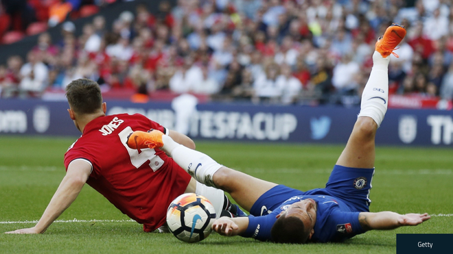 FA Cup,  Chelsea,  Manchester United,  Phil Jones,  doi tuyen Anh anh 1