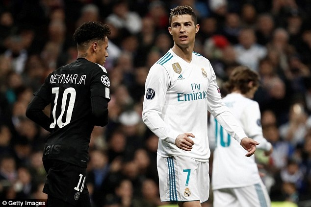 Cristiano Ronaldo,  Champions League,  Neymar,  Real Madrid anh 2