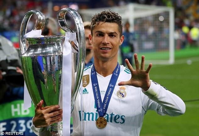 Ronaldo: 'Hay doi ten giai dau thanh CR7 Champions League' hinh anh
