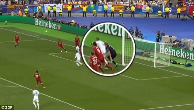 Sergio Ramos,  chung ket Champions League,  Real Madrid,  Liverpool anh 2