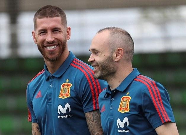 Sergio Ramos,  chung ket Champions League,  Real Madrid,  Liverpool anh 1