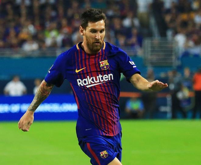 Top 10 VDV the thao kiem tien gioi nhat nam 2017, Messi vuot Ronaldo hinh anh