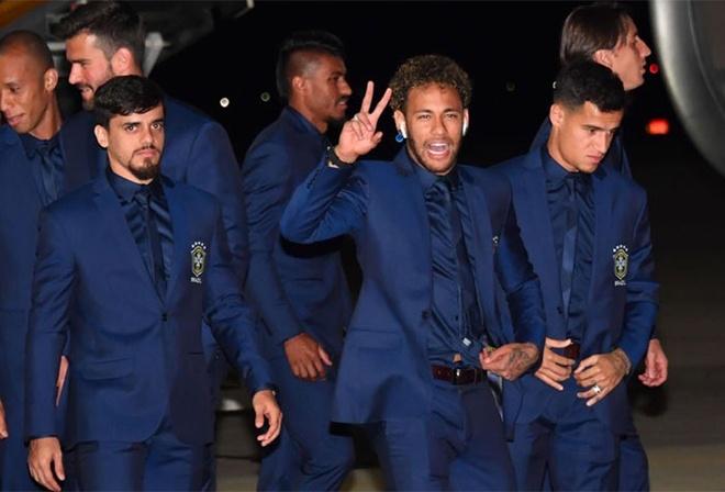 Neymar gay chu y khi den Nga du World Cup 2018 hinh anh 1