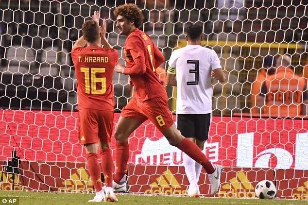 Lukaku, Hazard va Fellaini giup DT Bi thang Ai Cap 3-0 truoc World Cup hinh anh 6