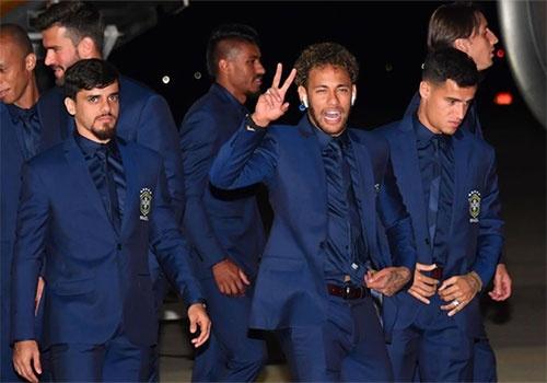 Neymar gay chu y khi den Nga du World Cup 2018 hinh anh