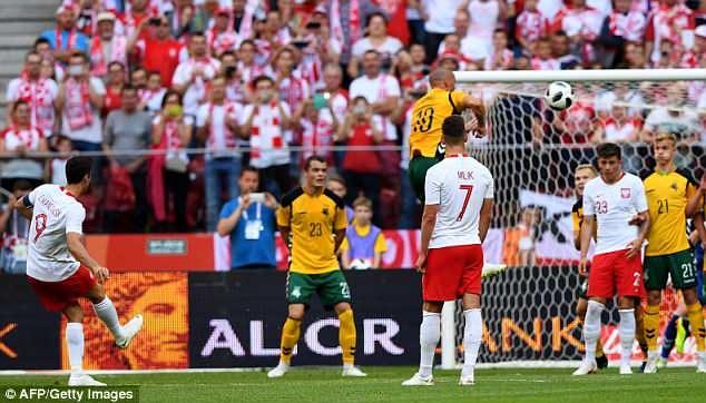 Lewandowski ghi cu dup, DT Ba Lan san sang cho World Cup hinh anh 3