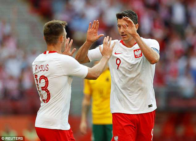 Lewandowski ghi cu dup, DT Ba Lan san sang cho World Cup hinh anh 4