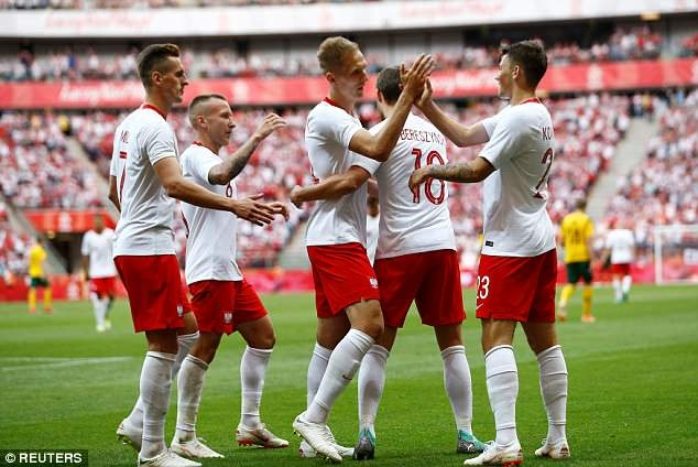 Lewandowski ghi cu dup, DT Ba Lan san sang cho World Cup hinh anh 6