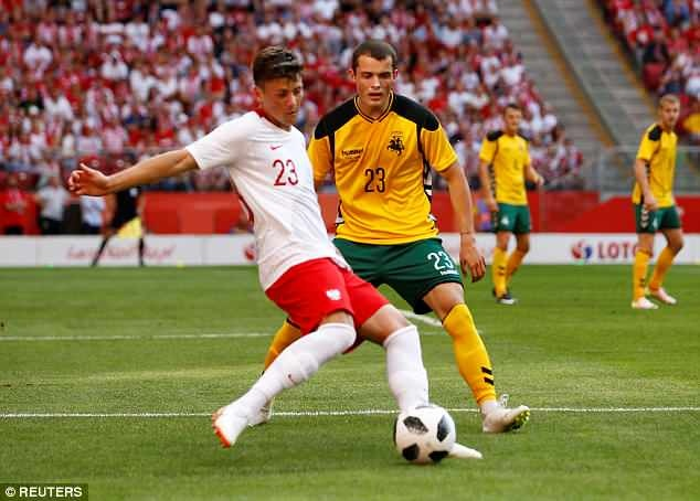 Lewandowski ghi cu dup, DT Ba Lan san sang cho World Cup hinh anh 2
