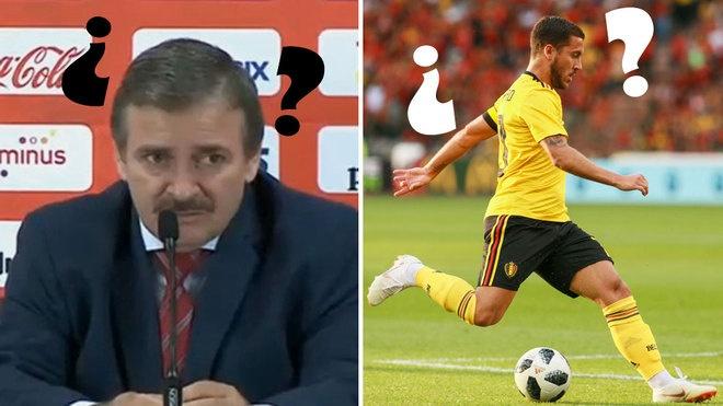 HLV Costa Rica khong he biet ten cua Eden Hazard hinh anh
