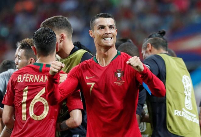 Ronaldo lap ky tich ngang hang Pele va Klose, pha ky luc cua ban than hinh anh