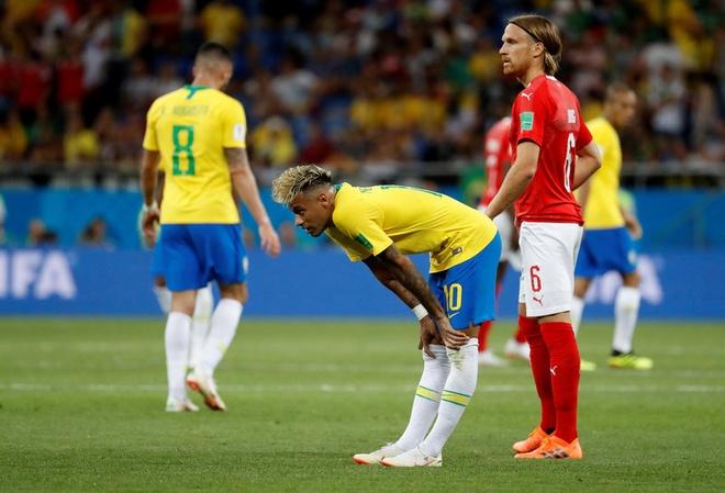 Thi dau te hai, Neymar bi bao chi Brazil len an hinh anh