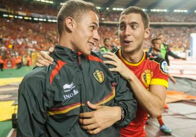 Nha Hazard va nhung cap anh em tung cung xuat hien tai World Cup hinh anh