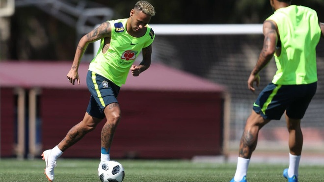 Brazil don tin vui ve Neymar truoc tran dau voi Costa Rica hinh anh 1