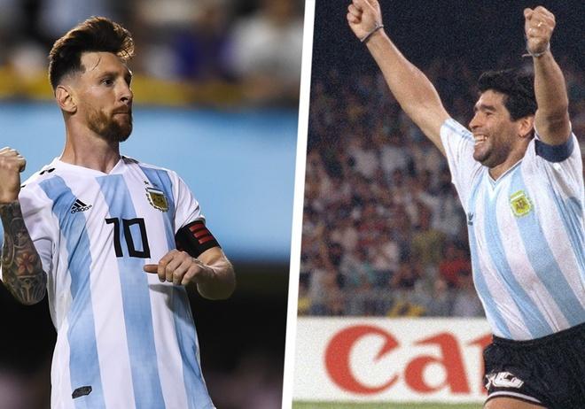 Sergio Ramos: 'Dang cap cua Maradona thua Messi ca may nam anh sang' hinh anh