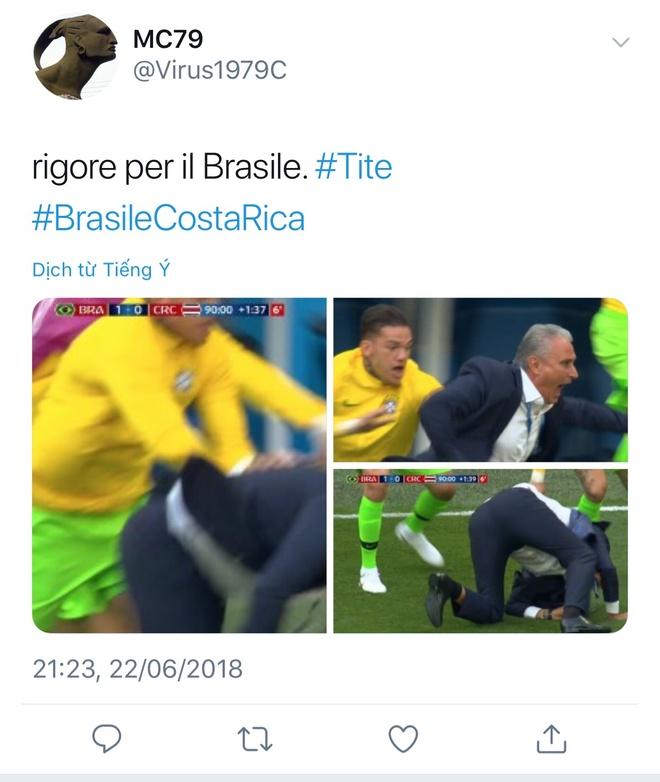 HLV Tite,  Neymar,  Doi tuyen Brazil,  World Cup,  Doi tuyen Costa Rica anh 1