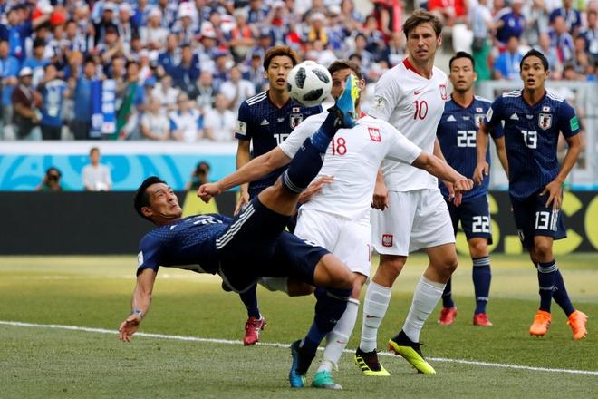 Colombia ghi ban cuu Nhat Ban, loai Senegal khoi World Cup hinh anh 1
