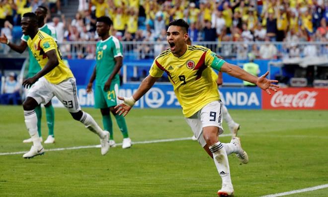 Colombia ghi ban cuu Nhat Ban, loai Senegal khoi World Cup hinh anh
