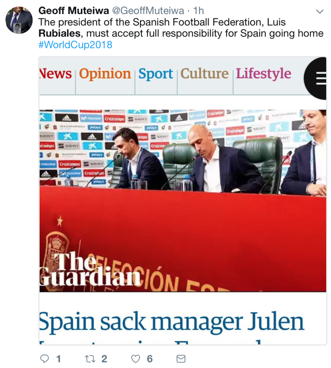 Chu tich LDBD Rubiales tro thanh tam diem chi trich sau khi Tay Ban Nha bi loai khoi World Cup anh 2