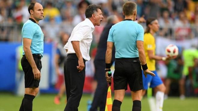 Neymar an va,  Mexico,  Brazil,  World Cup anh 2