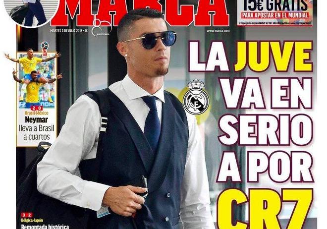 Bao chi Italy: Ronaldo chuan bi kiem tra y te va thue nha o Juventus hinh anh