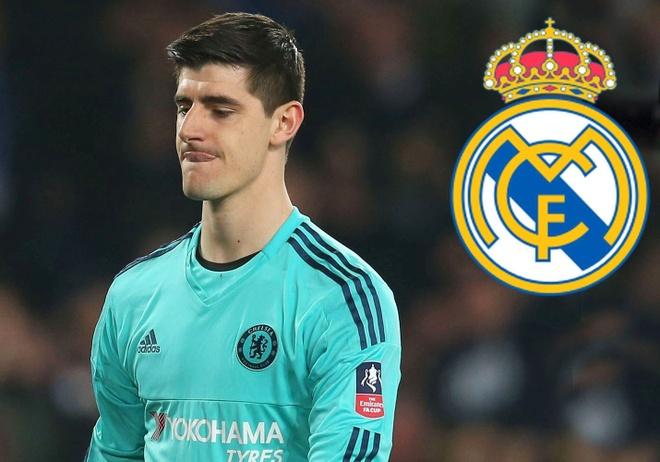 Courtois chuan bi dau quan sang Real Madrid sau World Cup 2018 hinh anh
