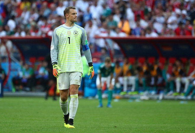 Manuel Neuer va cac thu mon mac sai lam ngo ngan tai World Cup 2018 hinh anh