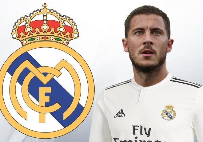 Hazard se khoac ao so 7 neu sang Real Madrid hinh anh