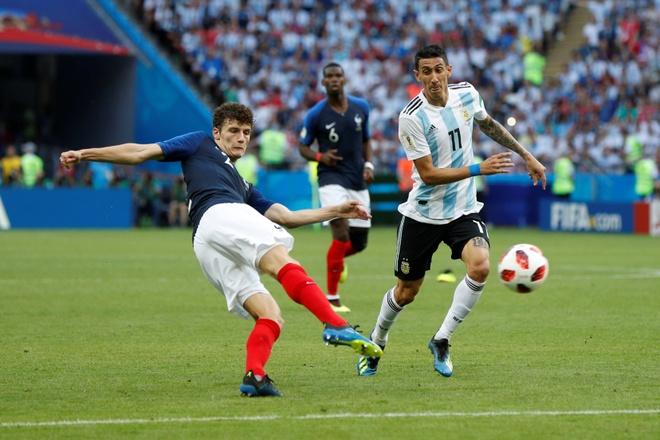 ban thang Pavard dep nhat World Cup,  Benjamin Pavard,  doi tuyen Phap anh 1