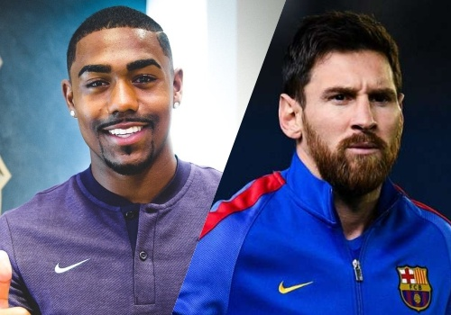 AS Roma se chap nhan loi xin loi vu Malcom neu Barca nhuong lai Messi hinh anh