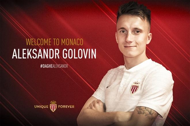 Chelsea nhin Golovin gia nhap AS Monaco hinh anh