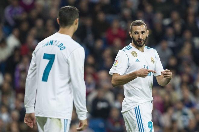 Benzema tu tin thay the Ronaldo de di vao lich su Real hinh anh 1
