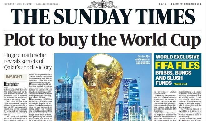 Bao chi Anh: Qatar boi nho doi thu de gianh dang cai World Cup 2022 hinh anh 2