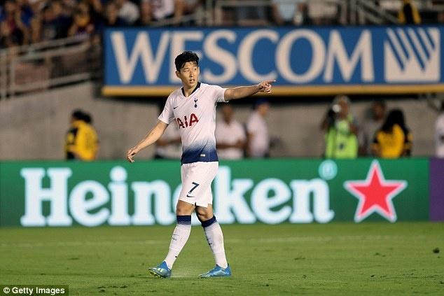 Quyet gianh HCV ASIAD, Son Heung-min noi loi xin loi Tottenham hinh anh 1