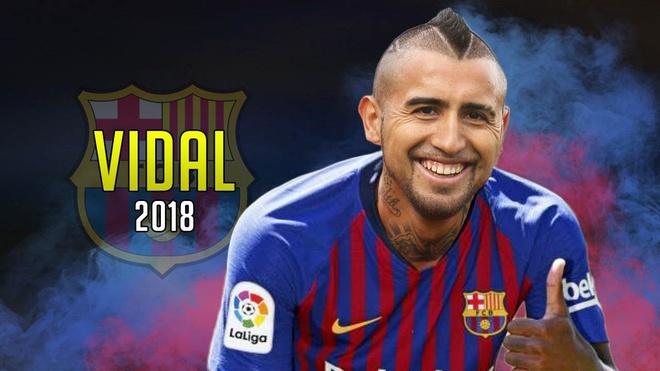 Barcelona chinh thuc dat thoa thuan chieu mo Vidal hinh anh