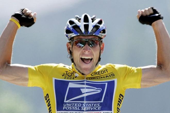 Cuu cua ro Lance Armstrong gap tai nan khi dap xe tren duong mon hinh anh 2