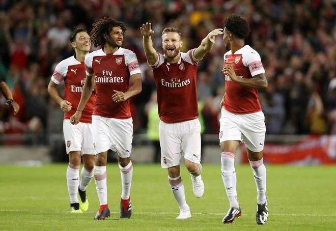 Arsenal vs Manchester City: Ngay 'Phao thu' da bai nha vua hinh anh